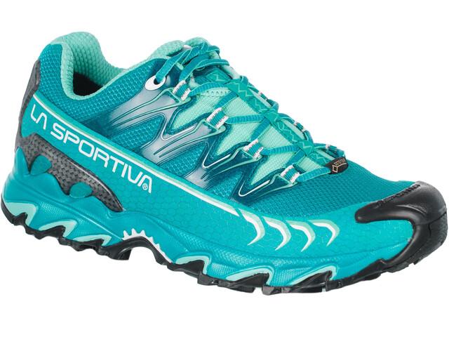 La Sportiva Ultra Raptor GTX Running Shoes Dam emerald/mint